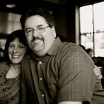David and Julie Machado at Lauro Kitchen