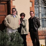 David and Julie Machado and Darren Hamilton in Italy