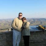 David and Julie Machado in Italy