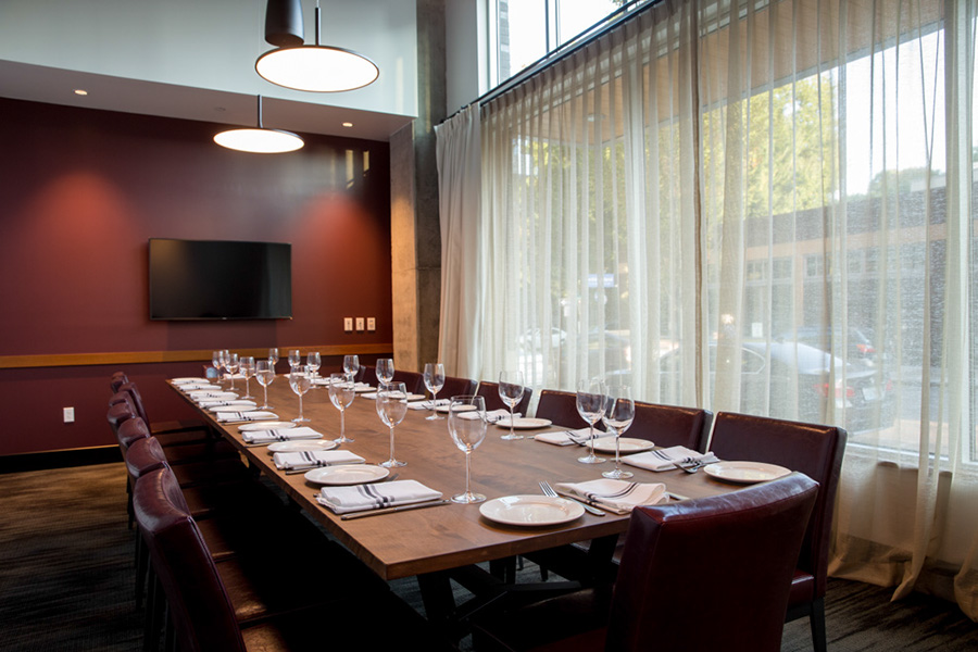 Private Dining | Tanner Creek Tavern | photo by John Valls