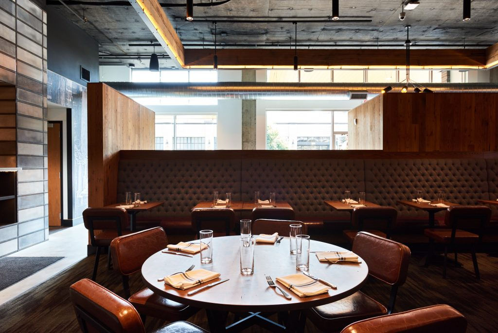 A table just steps from Tanner Creek's open kitchen Dina Avila/EPDX | Tanner Creek Tavern